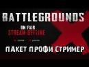 Battleground Анимированный пакет профи стример Battleground