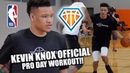New York Knicks' Kevin Knox Official NBA PreDraft Workout!!   Top 10 Pick In NBA Draft