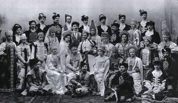 Императорской бал 1903 года. Русский стиль