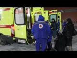 Санитарный борт МЧС России с двумя тяжелобольными пациентами приземлился в Петербурге