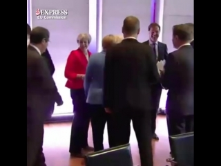 Дипломатический скандал: публичное оскорбление Мэй канцлером ФРГ попало на видео