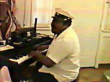 Fats Domino Going to the River. Private concert visiting Fats , October 1991