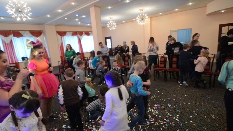 Шоколадная вечеринка в Енакиево