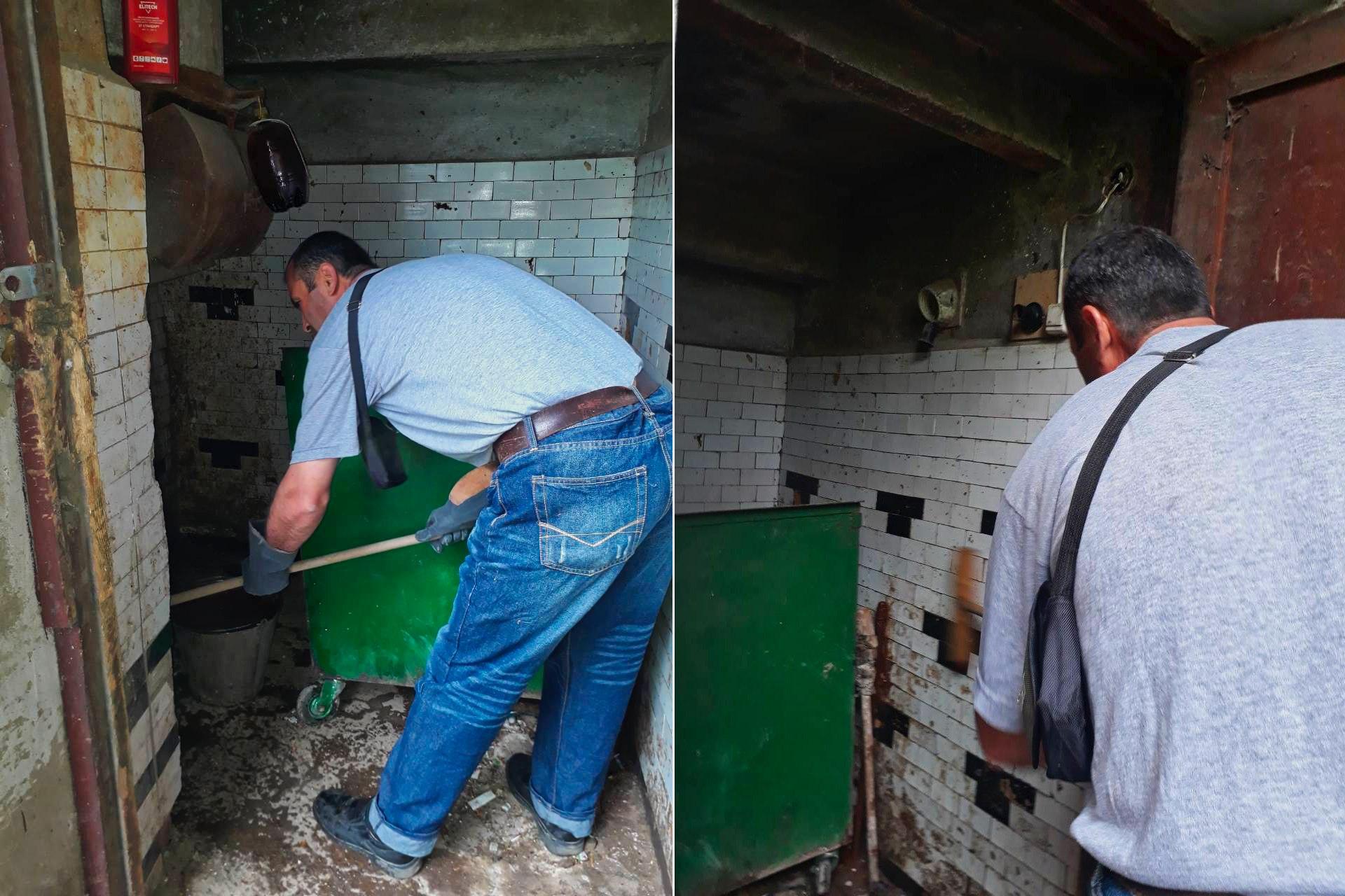 Провели санитарную обработку в Северном, 26