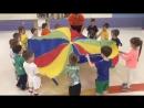 Parachute exercises at «YOUNG TIGER»