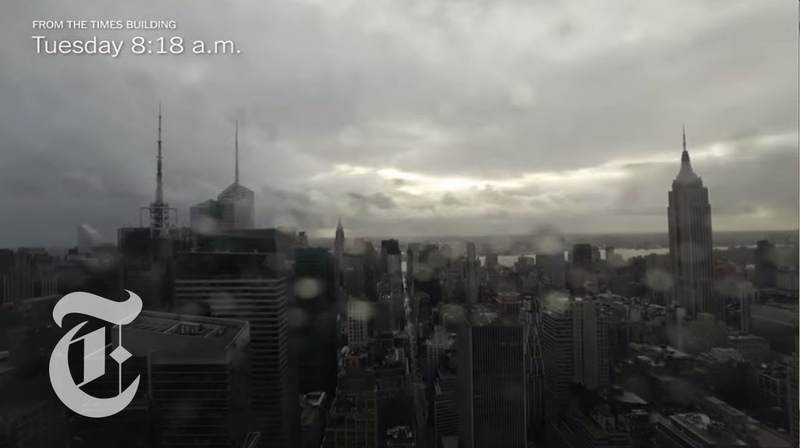 Hurricane Sandy | Timelapse of the Storm from The New York Times Building | The New York Times