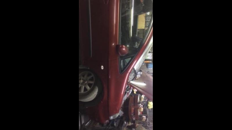 Таганрог Chevrolet Rezzo - после второго залива SpeedX Supreme 10/40