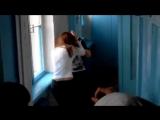 Hairpull challenge catfight - YouTube