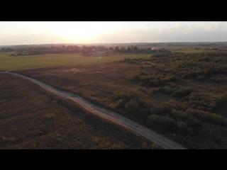 Dji Mavic Air. Осень в сентябре (Ласковый вечер)