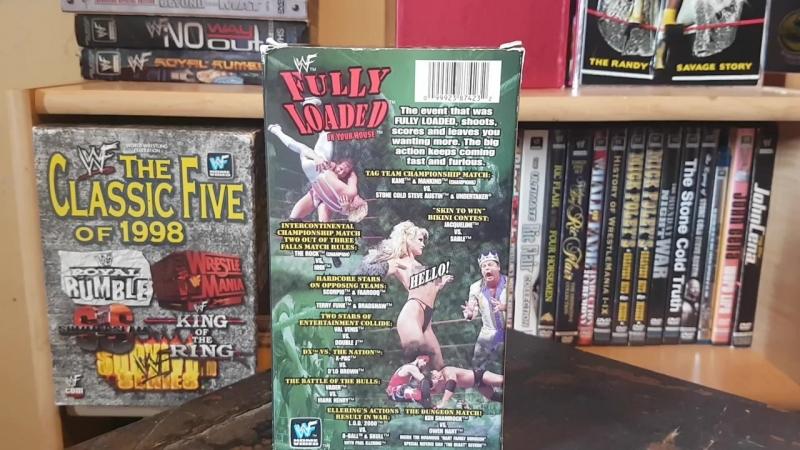 WWE 1998 PPV Collection - WWF Attitude Era VHS