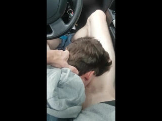 Greek twink car head blowjob swallow cum