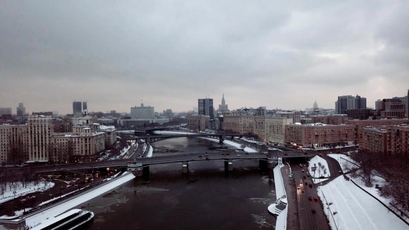 Москва. Смоленская набережная