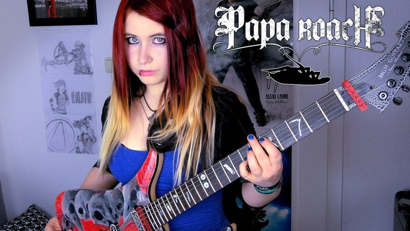 PAPA ROACH Between Angels And Insects GUITAR COVER Jassy J