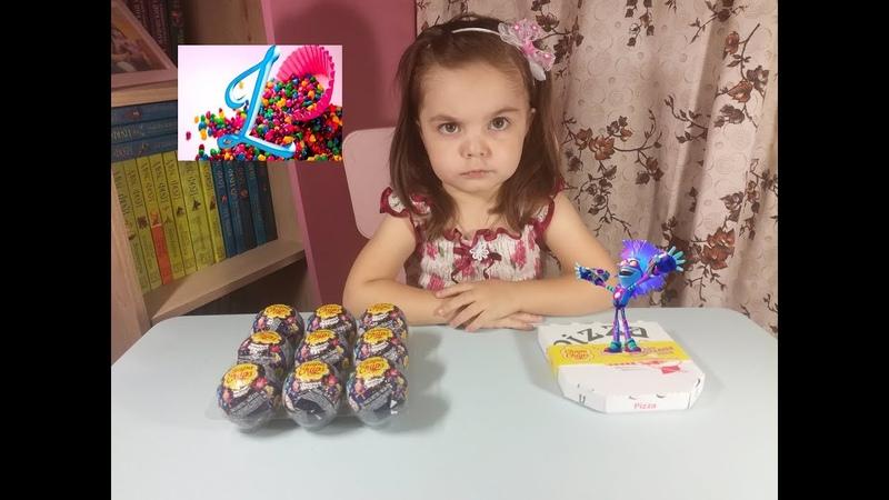 ФИКСИКИ Большой секрет Шоколадные шары Чупа Чупс 2017 UNBOXING CHUPA CHUPS