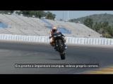 Casey Stoner testing the Panigale V4