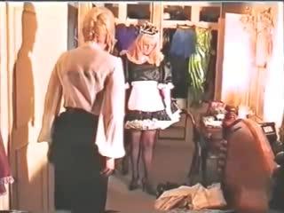 Винтаж - Госпожа феминизирует мужчин и делает из них служанок - FEMINIZED