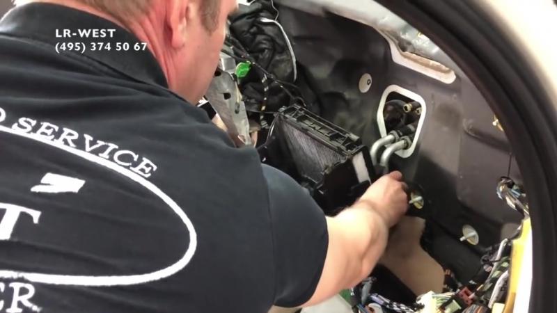 Замена радиатора кондиционера в салоне Фрилендер 2 , особенности
