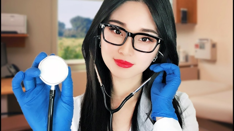 [ASMR] Flu Doctor Checkup ~ Medical Appointment
