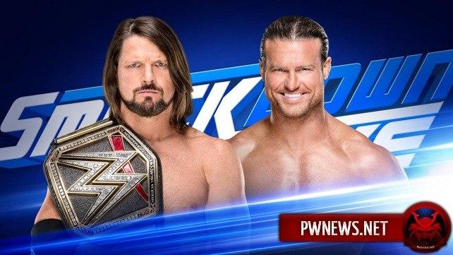 Два матча и сегмент добавлены на следующий эпизод SmackDown Live