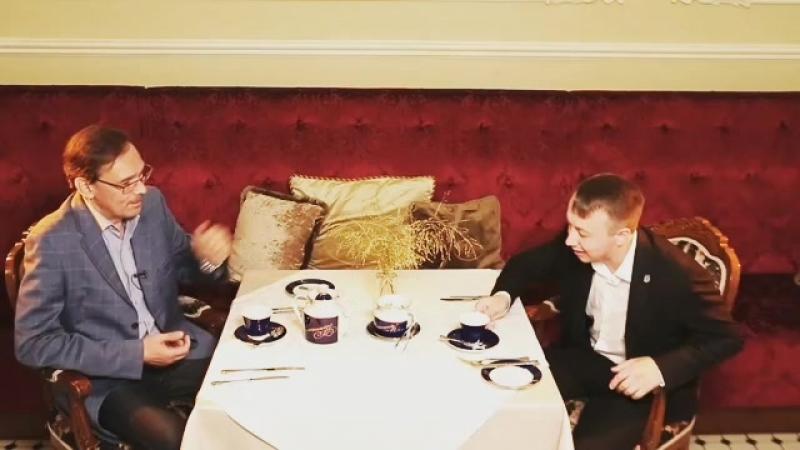 Иванов СМ: Почему чай без сахара? Ладно, шучу, с сахаром я уже сегодня пил...
