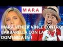 CLAMOROSO MARA VENIER BATTE BARBARA D'URSO CON LA SUA DOMENICA IN