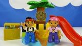 Строим из Lego Duplo, LEGO DUPLO 10604 Jake and the Never Land Pirates - Остров сокровищ