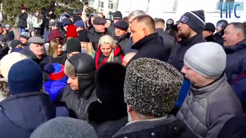 Вице губернатор Кузбасса Сергей Цивилев извиняется