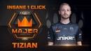 TiziaN insane 1 click vs Renegades FACEIT Major London 2018