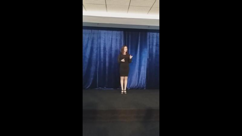 Экзамен по актерскому мастерству и ораторскому искусству