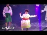 Мега танцевальный тортик Чон Хосок