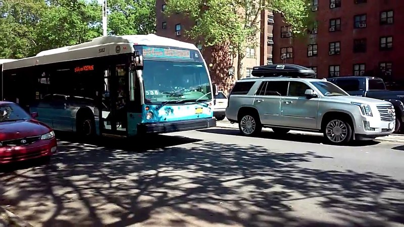 Автобус-гармошка на моей улице LFS Novabus