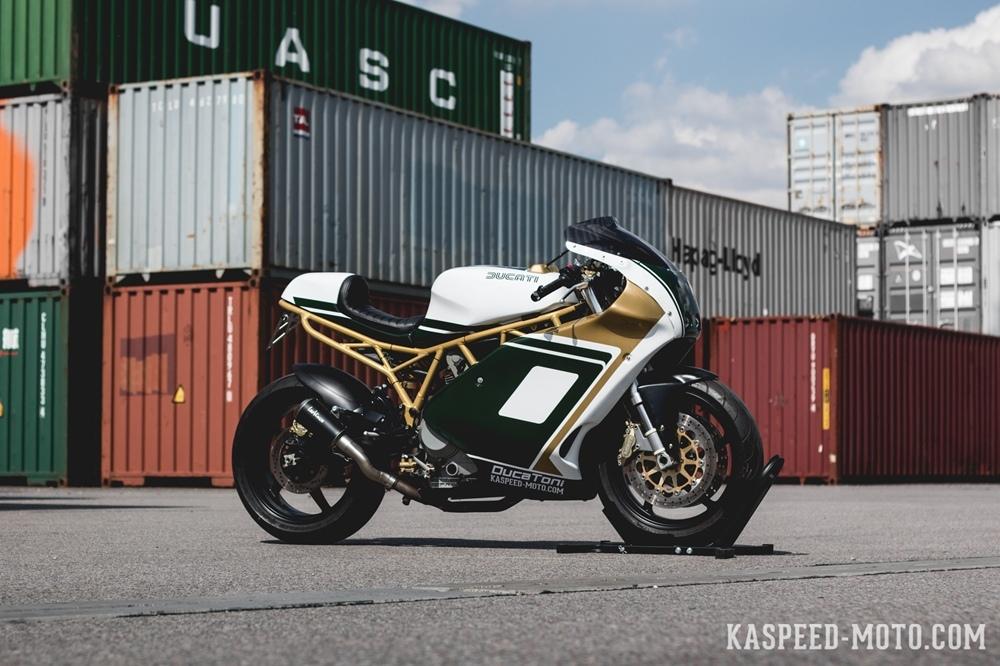Kaspeed: кастом Ducati Supersport Track Day Racer