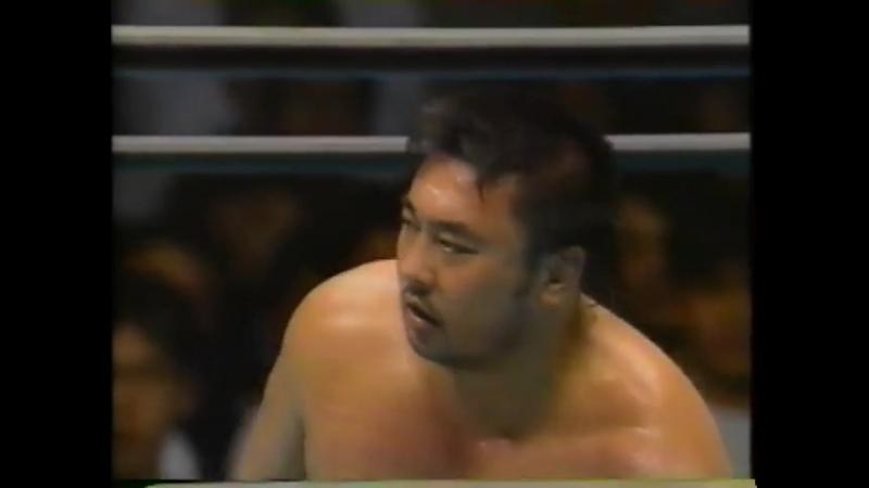 1993.06.01 - Toshiaki Kawada/Akira Taue [c] vs. Mitsuharu Misawa/Kenta Kobashi