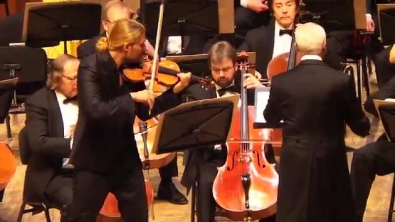 David Garrett Moscow, 02.03.2015 Johannes Brahms: Violin Concerto in D Major, Op. 77