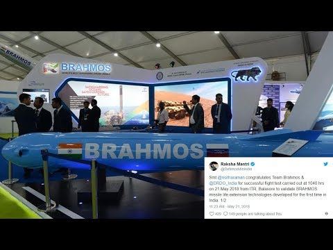BrahMos successfully test-fired under life extension program