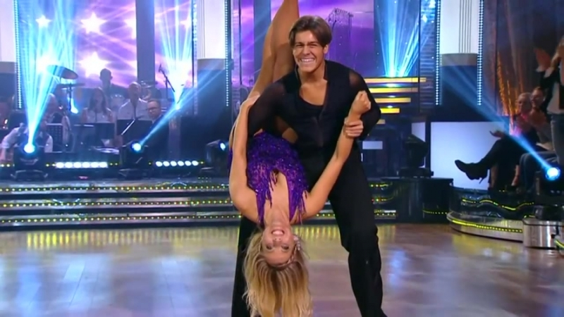 Benjamin Wahlgren och Sigrid Bernson - jive - Lets Dance (TV4)