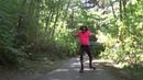 Hula Hoop Dance On Roller Skates With Hoopsmiles