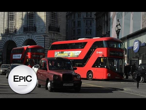 Buses of London - England, UK (HD)