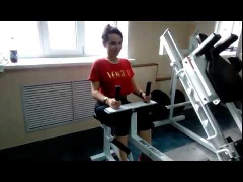 Проработка икроножных мышц