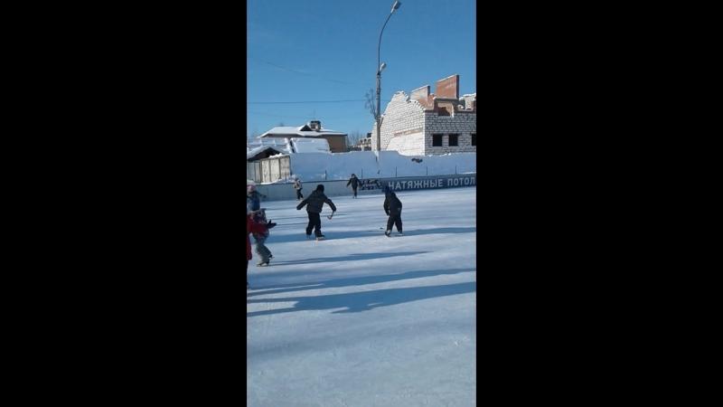 лед зима 2018