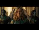 Капитан Марвел / Captain Marvel дублированный трейлер / премьера РФ 7 марта 2019 2019,фантастический боевик,США,16