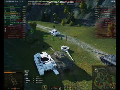 Бой на Т30 Взрыв башни