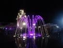 Поющие фонтаны. нереальная красота. июнь2016. Краснодарский край, п. Архипо-Осиповка.