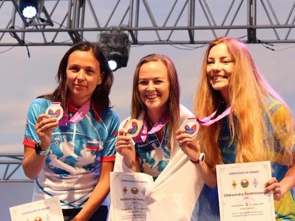 Победительницы Чемпионата мира по радиопеленгации
