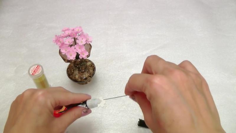 Мастер-класс по изготовлению цветов из фоамирана