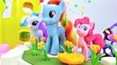 My Little Pony Spielzeug. 4 Folgen am Stück. Spaß ohne Ende