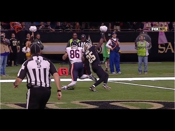 Zach Miller Suffers Gruesome Leg Injury On Touchdown That Gets Reversed