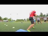 Луга/Юниорская сборная России по американскому футболу/ Август 2018