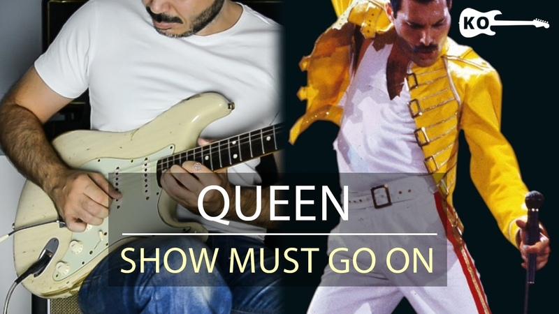 Queen The Show Must Go On Electric Guitar Cover by Kfir Ochaion