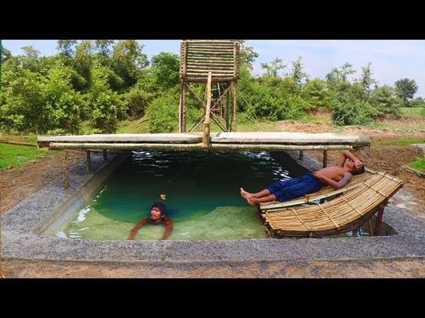 Build Shower Tank Underground Swimming Pool
